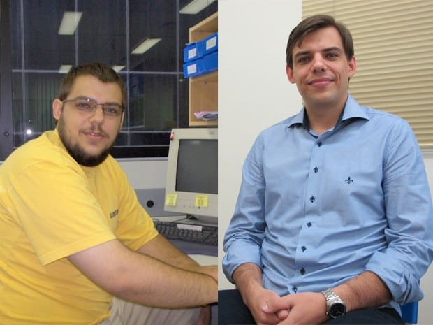 Edson Burger antes e depois (Foto: Montagem/Arquivo Pessoal - Disponibilizada pelo G1)
